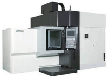 5-axis, vertical, machining center, production