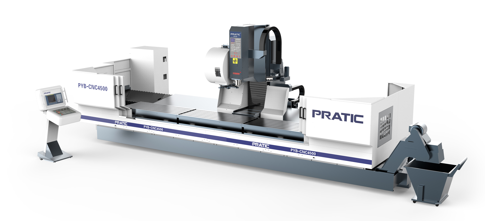 Long Profile CNC Machining Center with moving column